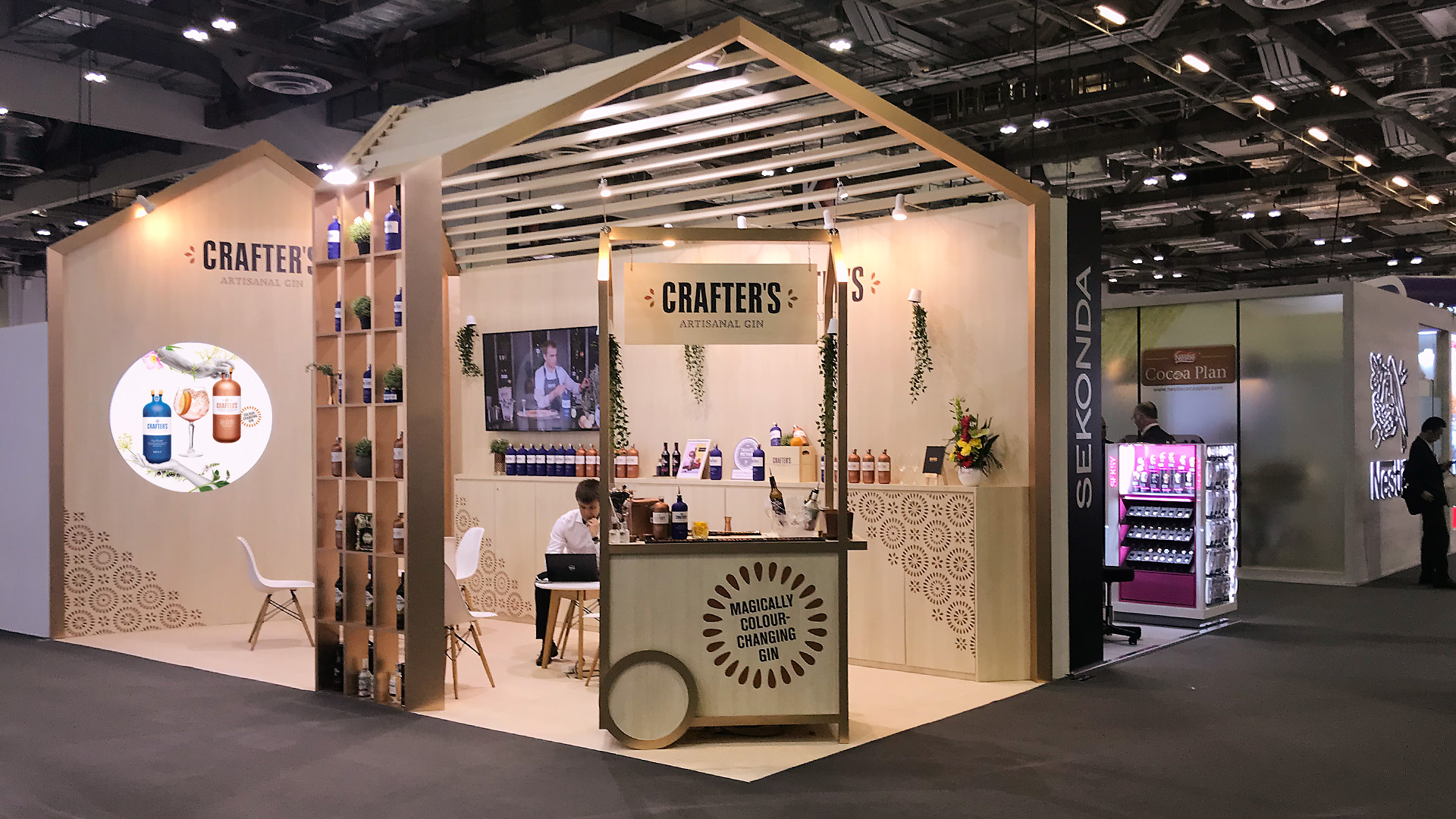 Crafters-TFWA-stand-brandnew-1